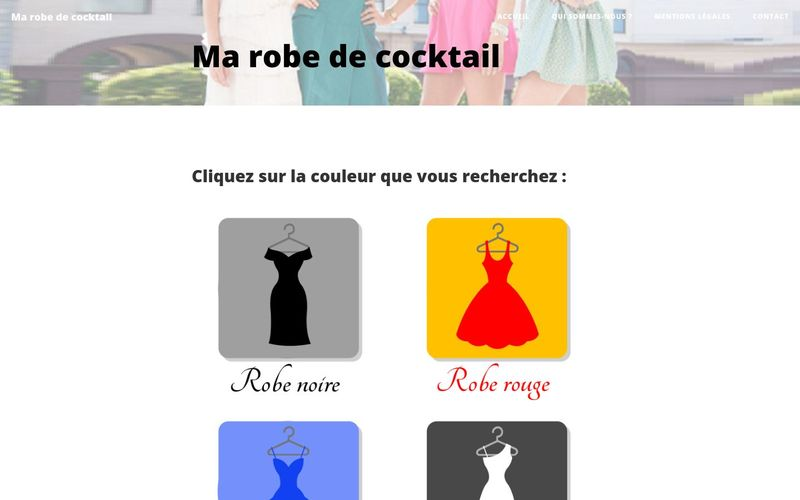 Ma robe de cocktail