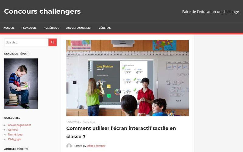 Comment utiliser l'écran interactif tactile en classe ?