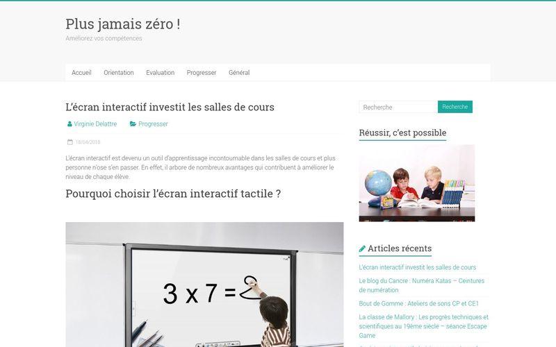 L'écran interactif investit les salles de cours
