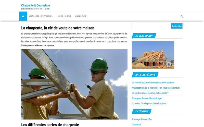 Charpente & Couverture - Des informations pour un toit de qualité
