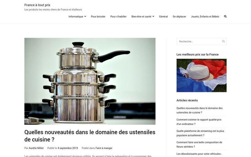 France à tout prix - Les produits les moins chers de France et d'ailleurs