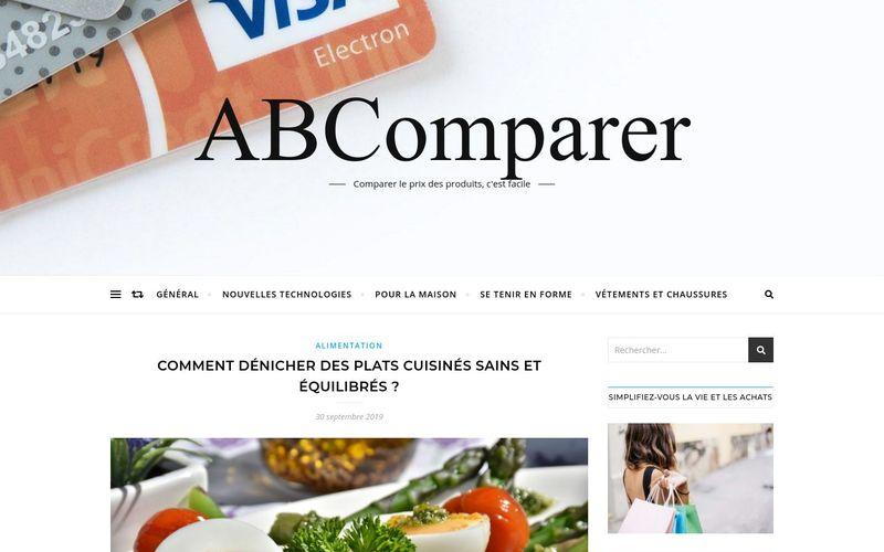 ABComparer - Comparer le prix des produits, c'est facile