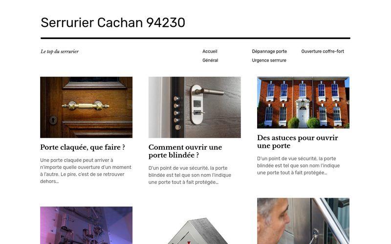 Serrurier Cachan 94230 - Le top du serrurier